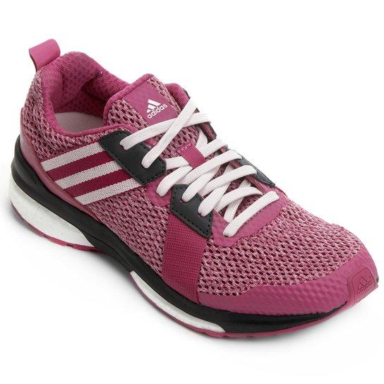5310c2b334 Tênis Adidas Revenge Boost Mesh - Rosa Escuro+Preto