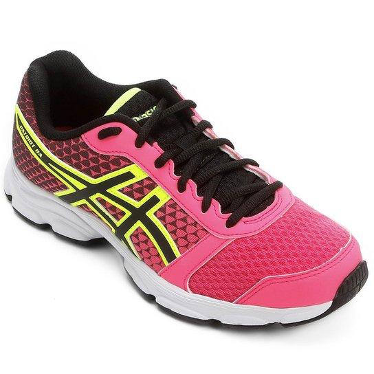 Tênis Asics Patriot 8 Feminino - Pink e Preto - Compre Agora  69a733072ebb2