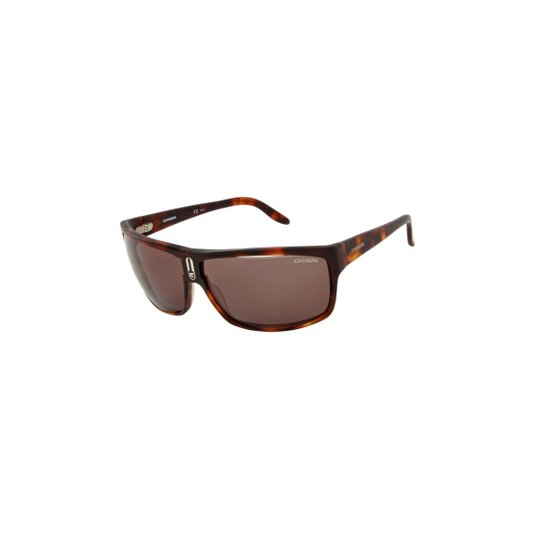 537ab74c81f0d Óculos de Sol Carrera 100% Proteção U.V. Melani Tartarugado - Marrom Escuro  e Preto