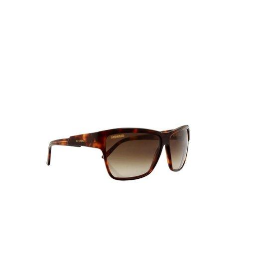 1c516880a694d Óculos de Sol Carrera 100% Proteção UV Tartarugado Masculino - Marrom  Escuro+Preto