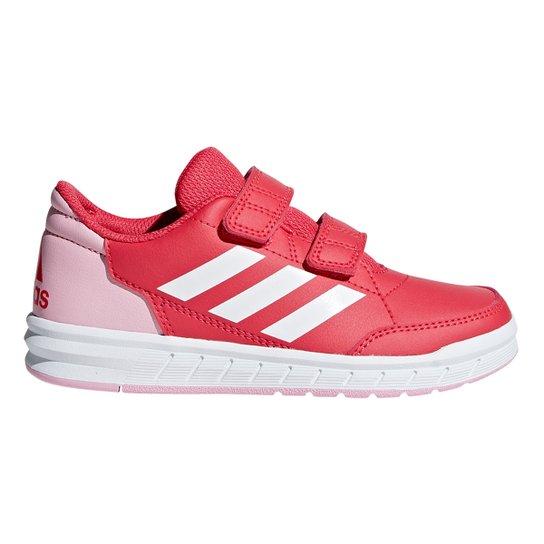 7c2c9c5b4d7 Tênis Infantil Adidas Altasport Velcro - Pink e Rosa - Compre Agora ...