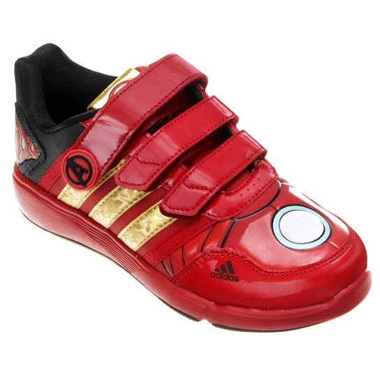 6bf472c9e50 Tênis Adidas Disney Vingadores Homem de Ferro Infantil - Compre ...