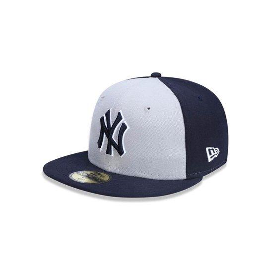 Boné 5950 New York Yankees MLB Aba Reta New Era - Compre Agora  e26844a4f3a