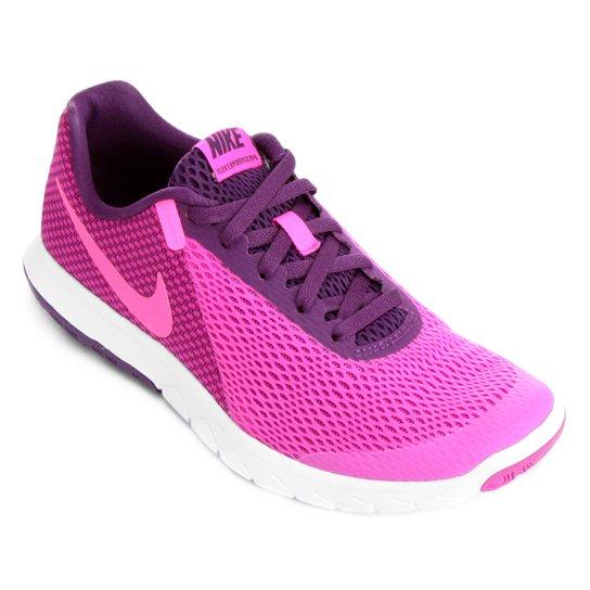 4fdce8e52c Tênis Nike Flex Experience Rn 6 Feminino - Roxo e Rosa | Zattini