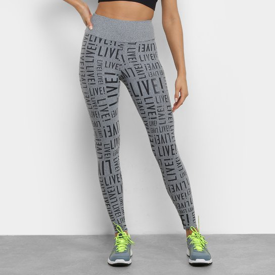 6f48501f38 Calça Legging Live Sense Feminina - Compre Agora