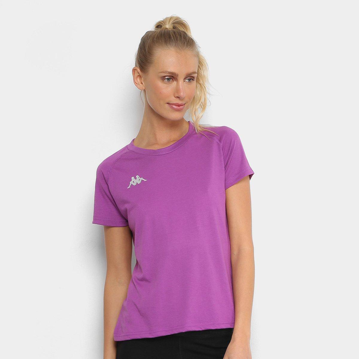 Camiseta Kappa Verona Feminina 63f7844e67507