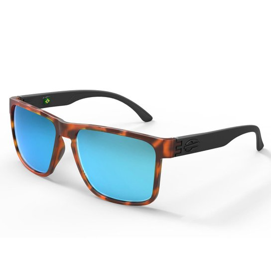 Oculos Sol Mormaii Monterey - Marrom e Azul - Compre Agora   Zattini a1802dee5a