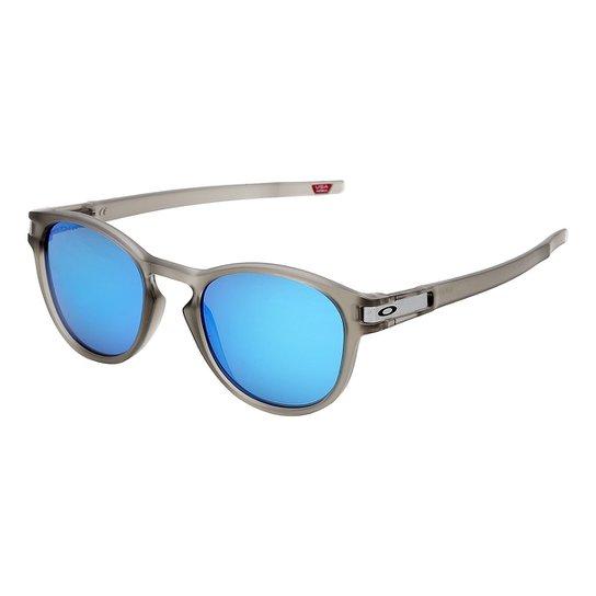 37e3d6fef Óculos de Sol de Sol Oakley Latch Masculino - Cinza | Zattini