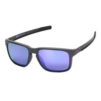 49dc80cc6 Óculos De Sol Oakley Holbrook Mix Iridium Masculino