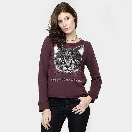 3a4ad9708 Moletom Colcci Gato - Compre Agora | Zattini