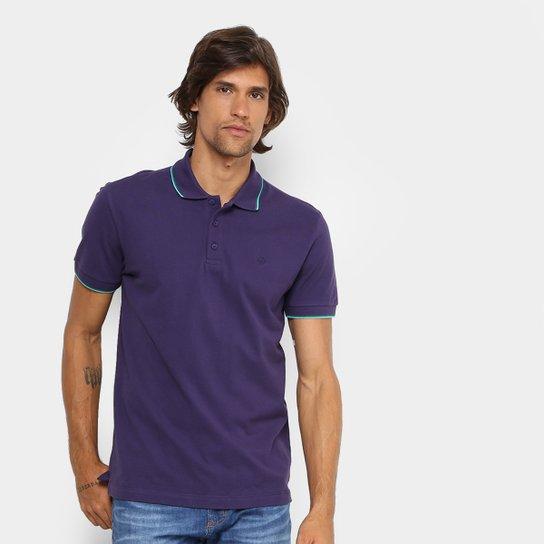 Camisa Polo Forum Piquet Frisos Color Masculina - Roxo - Compre ... e5152817955f1