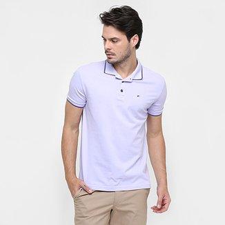 296f081e391 Camisa Polo Ellus Piquet Básica Frisos