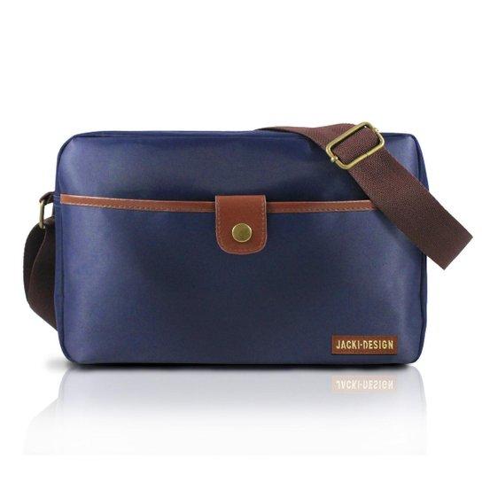 57c4983db Bolsa Transversal Masculina - Jacki Design - Compre Agora   Zattini