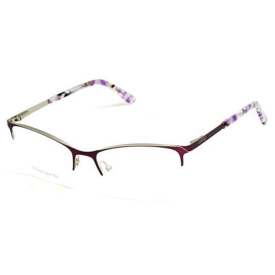 59f37eeb02e36 Armação De Óculos De Grau Cannes 2029 T 53 C Icônico Feminino - Roxo