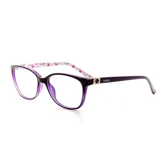 Armação De Óculos De Grau Cannes 2290 T 52 C 7 Feminino - Compre ... cd2ba7d349