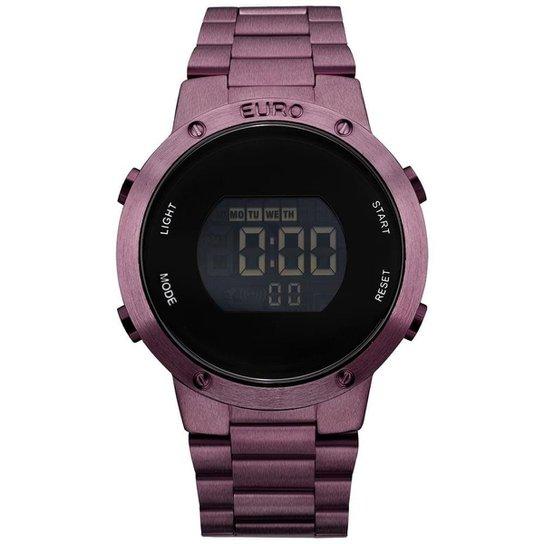 88499889a4 Relógio Feminino Fashion fit EUBJ3279AD 4T - Roxo EUBJ3279AD 4T - Roxo