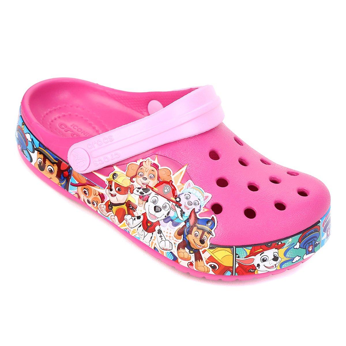 Crocs Infantil Fl Patrulha Canina Band Clog