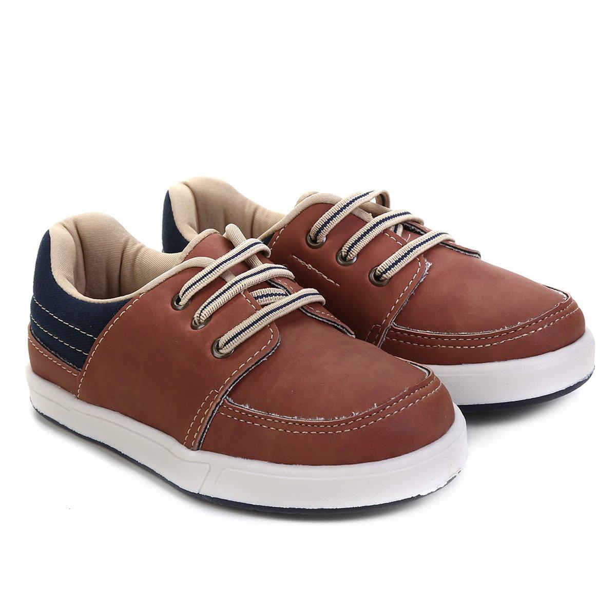 1d56ba71d Sapato Infantil Pimpolho Básico Masculino