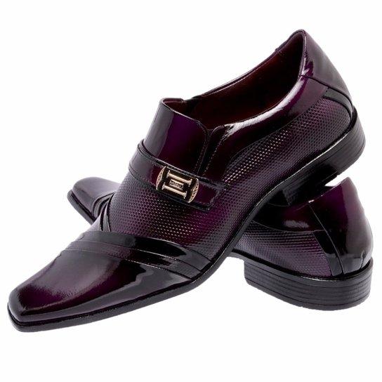 c297eb86f Sapato Social Envernizado Gofer Couro | Zattini