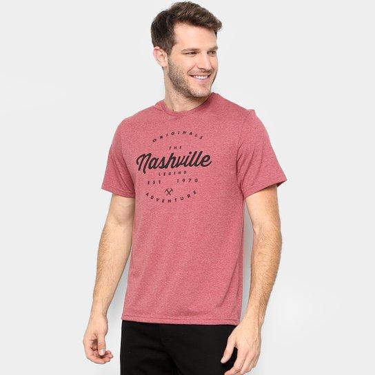 cca2e9a6fd9fc Camiseta Treebo Nashville Masculina - Vermelho - Compre Agora