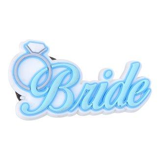 Acessório Para Crocs Infantil Jibbitz Bride Feminino