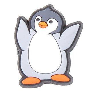 Acessório Para Crocs Infantil Jibbitz Pinguim Feminino