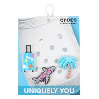 Acessório Para Crocs Infantil Jibbitz Vacation Feminino