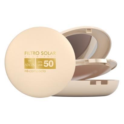 Adcos Filtro Solar Tonalizante FPS 50 Pó Compacto Beige