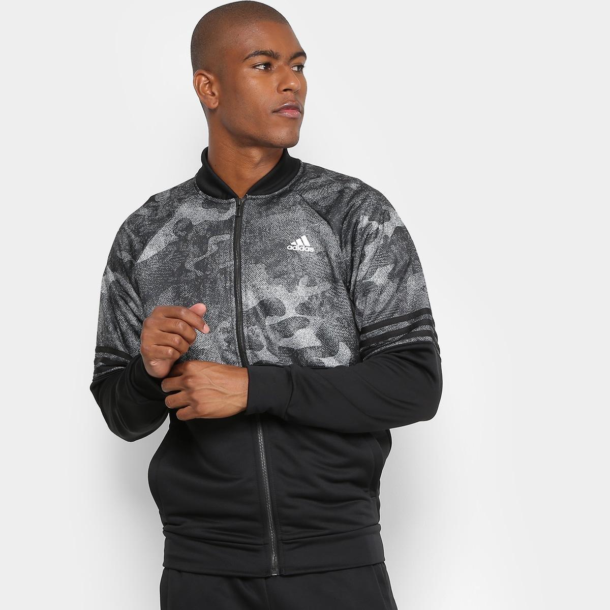 ... Agasalho Adidas Cozy Masculino - Preto - Compre Agora Zattini  86e54c94b2e21b ... 310125c1552f5