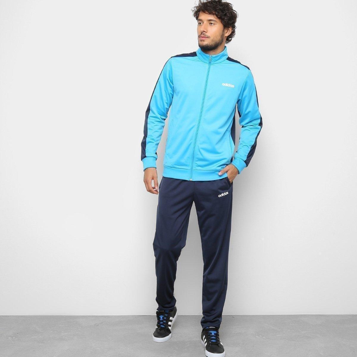 408343e999 Agasalho Adidas MTS Basics Masculino - Marinho - Compre Agora