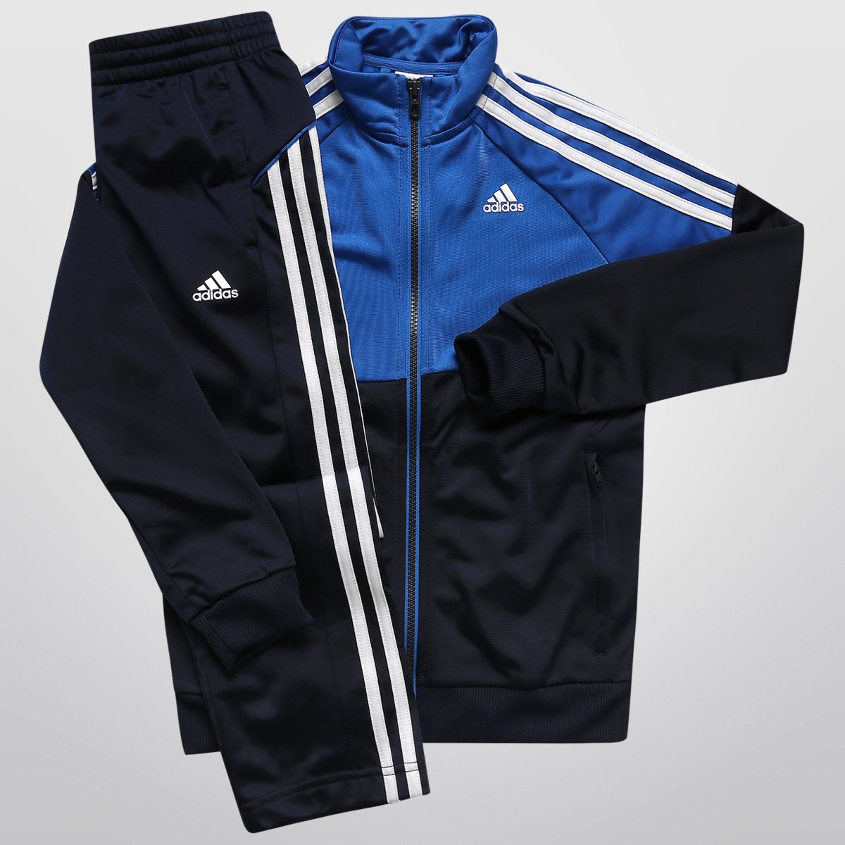 Agasalho Adidas YK TS Gear KN Infantil - Compre Agora  27bbb21d295da