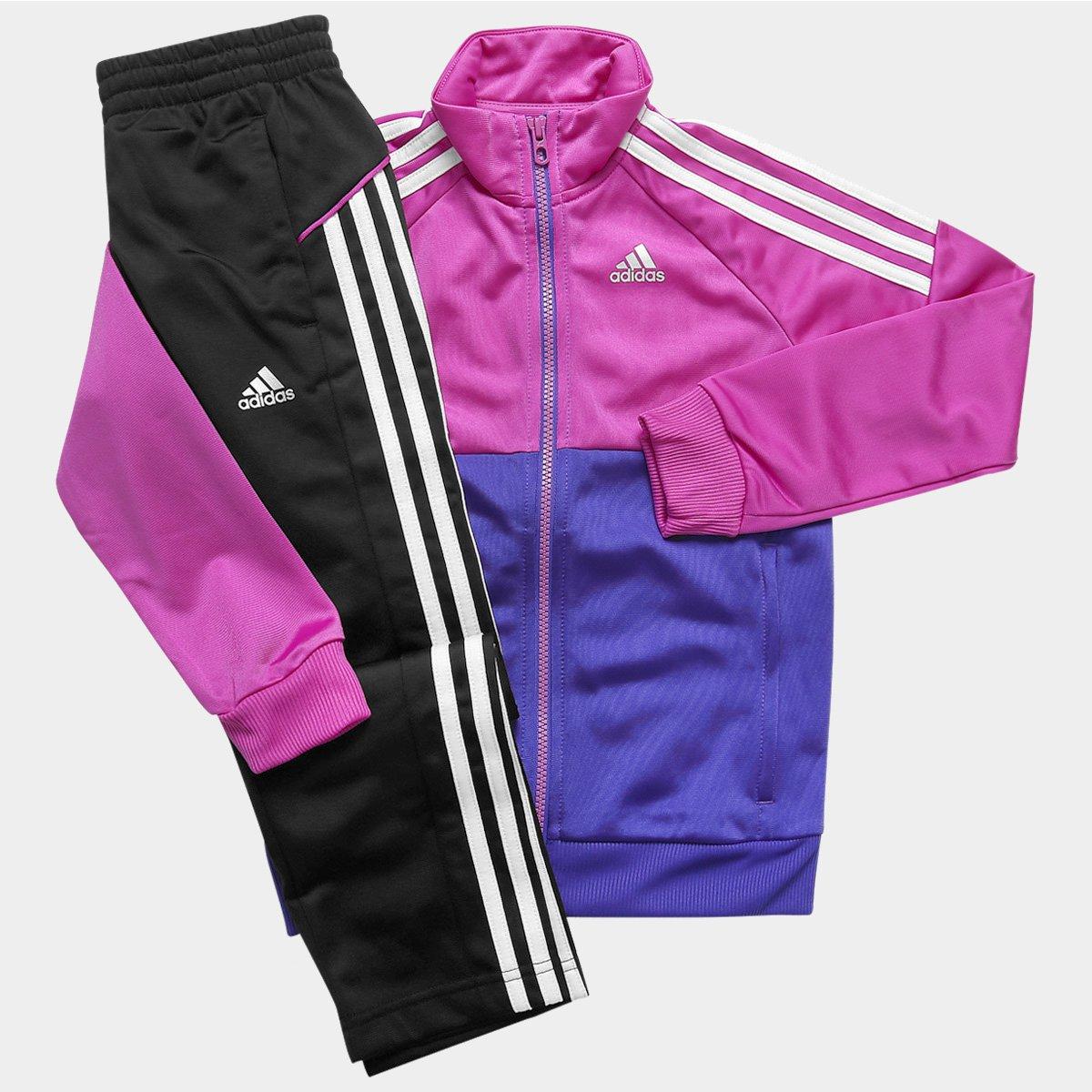 4b281b4d83 Agasalho Adidas YK TS Gear KN O Infantil - Compre Agora
