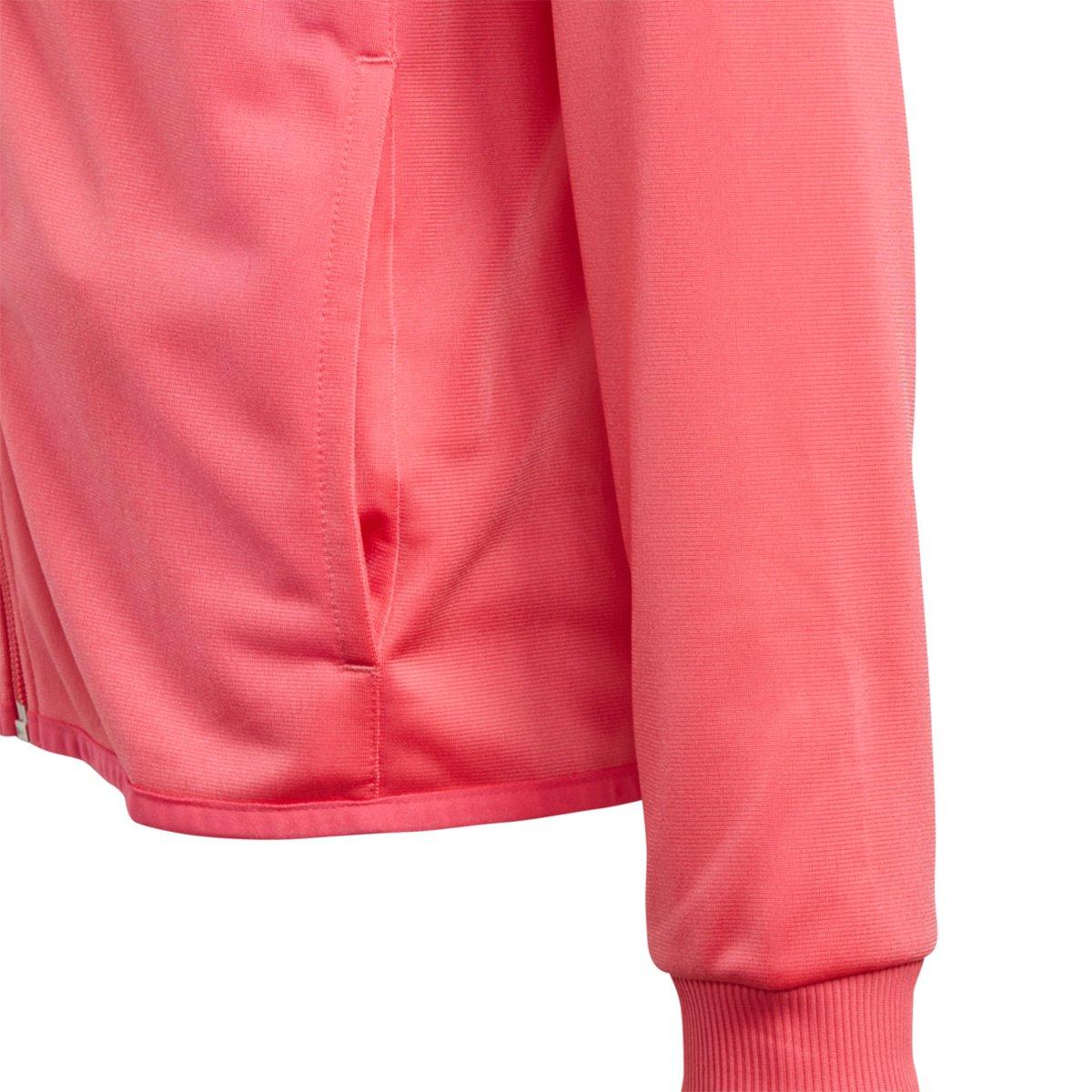 7595801e63 Agasalho Infantil Adidas Yg S Entry Ts Feminino - Rosa e Preto ...