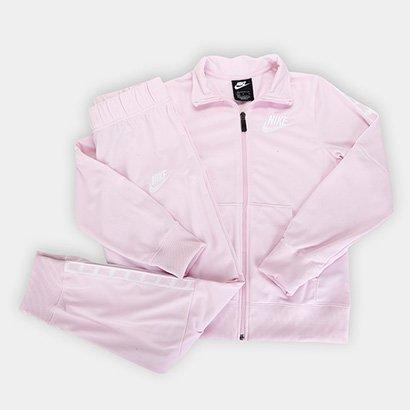 Agasalho Infantil Nike Sportswear Tracksuit Feminino