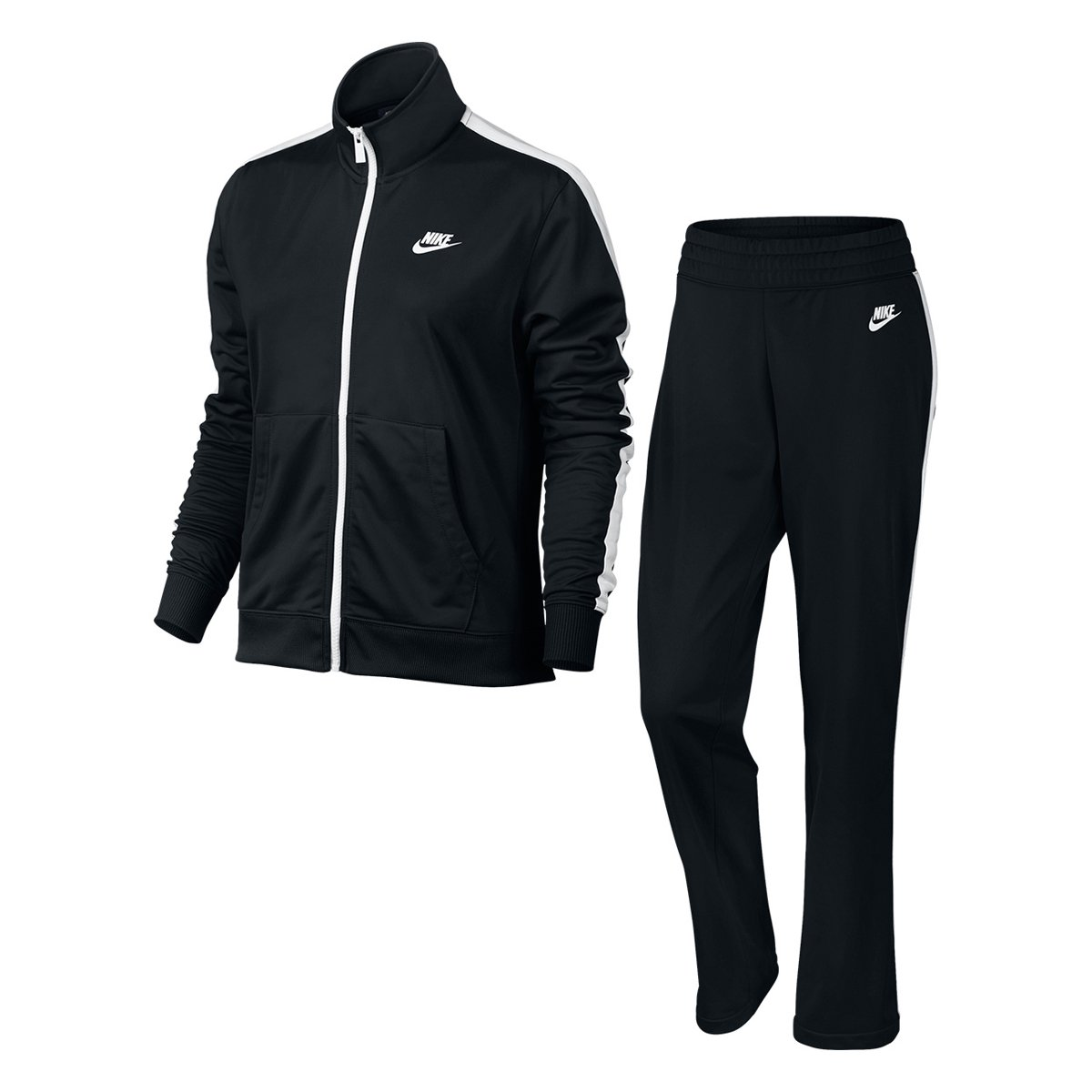 Agasalho Nike Pk Oh Feminino Preto E Branco