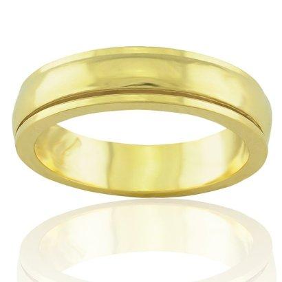 Imagem de Aliança casamento trabalhada em ouro 18K Cartiê Privilege
