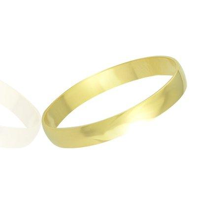 Imagem de Aliança casamento tradicional em ouro 18K Ipanema 1