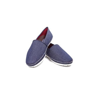 Alpargata Jeans Italiana Confort Casual Masculino