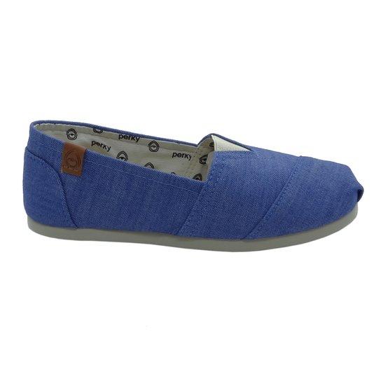 Alpargata Perky Light Chambray Feminino - Azul