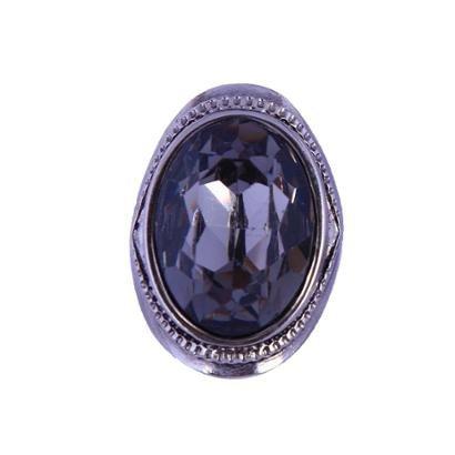Anel Armazem RR Bijoux pedra oval Feminino