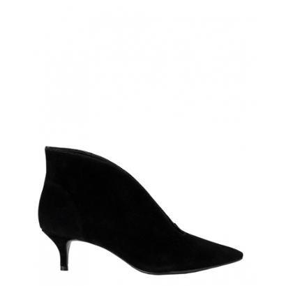 Ankle Amaro Boot Decote V Feminino-Feminino