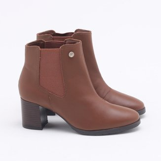 Ankle Boot Cravo & Canela Crystal
