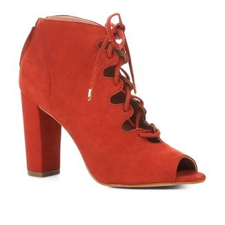 Ankle Boot Shoestock Nobuck Lace Up