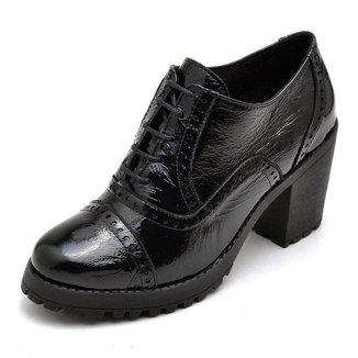 Ankle Boot Verniz Q&A Feminino