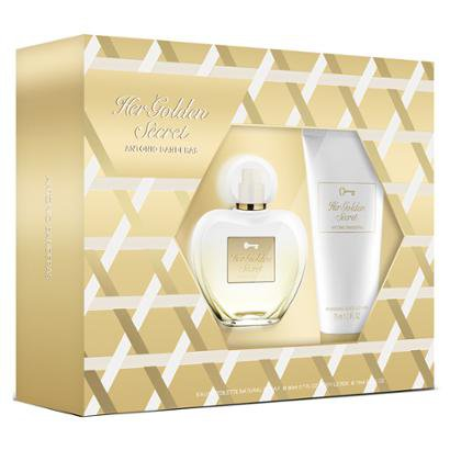 Antonio Banderas Her Golden Secret Kit - Eau De Toilette + Loção Corporal Kit-Feminino