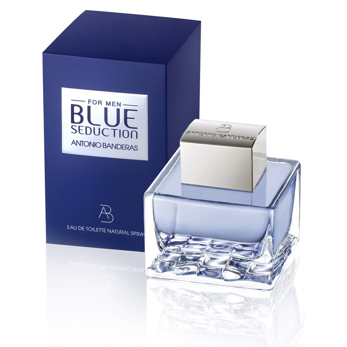 83e8aa98b Antonio Banderas Perfume Masculino Blue Seduction EDT 50ml - Compre ...