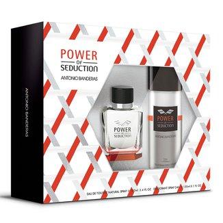 Antonio Banderas Power of Seduction Kit - Eau de Toilette 100ml + Desodorante 150ml