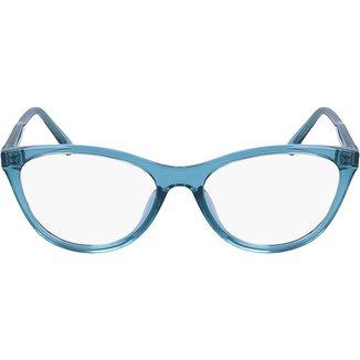 Armação de Óculos de Grau Calvin Klein Jeans Transparente Feminino