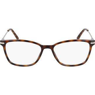 Armação de Óculos de Grau Calvin Klein Tartaruga Feminino