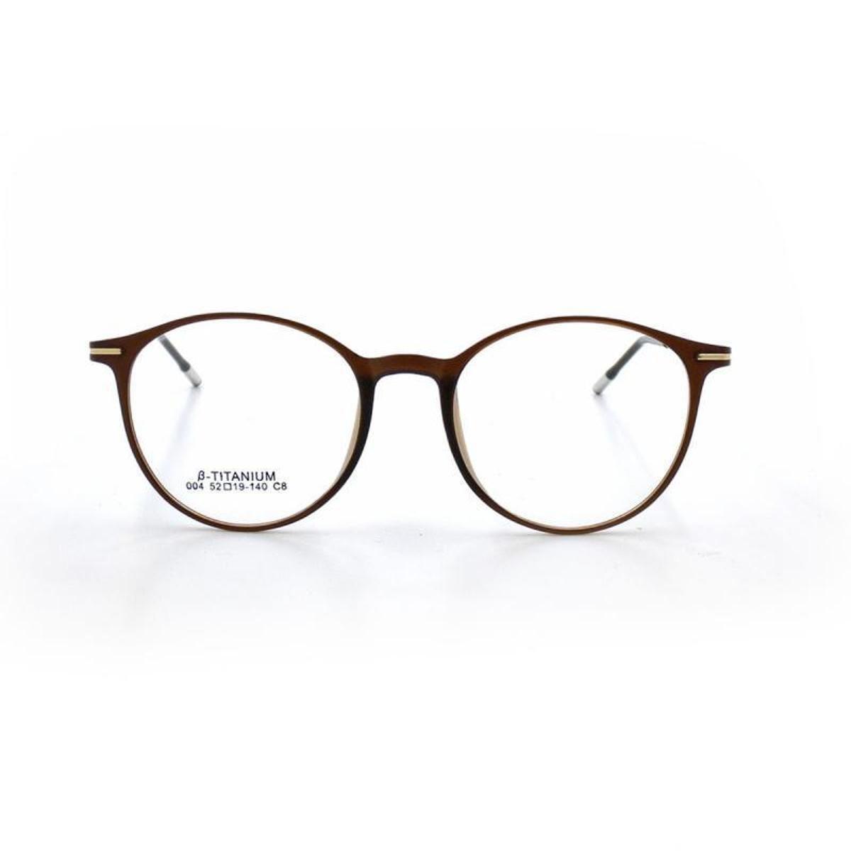 886ffa738af6c Armação De Óculos De Grau Cannes 004 T 52 C 8 Round Masculino ...